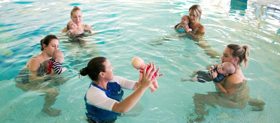 See Our First Splash Time Lesson